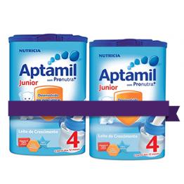 Aptamil Junior 4 Promoção Leite Crescimento 750g x 2