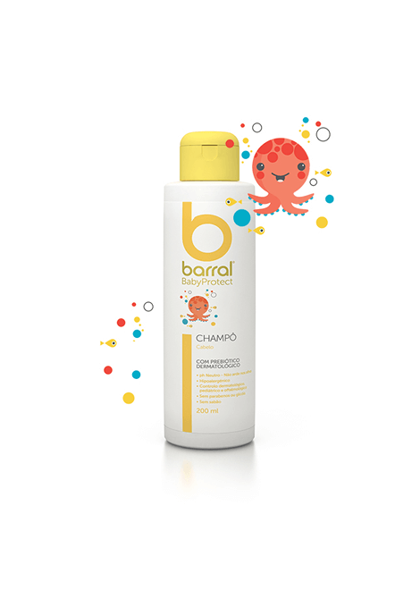 Barral Babyprotect Champoo 200 ml