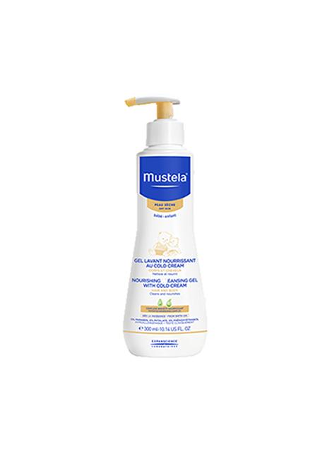 Mustela Bebe Gel Lavante Nutritivo com Cold Cream 300Ml