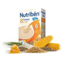 Nutriben 8 Cereais e Mel 300g
