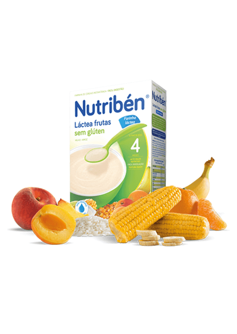Nutriben Lactea Frutas 300g